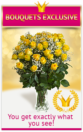 Bouquets Exclusive - You get exactly what you see!
