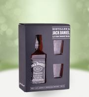 Jack Daniel's Tennessee Whiskey 0,7l + skleničky - Flowers delivery in Prague