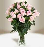 Bouquet of pink roses - Flowers delivery in Prague