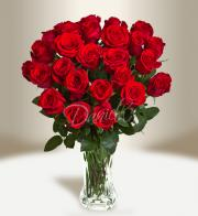 Bouquet of red roses - Delivery of flowers in Prague