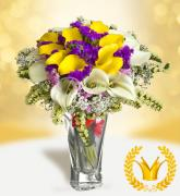 Exclusive bouquet Kalla